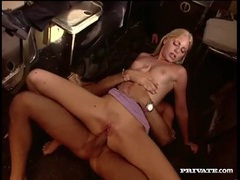 Anal on a plane with a slutty blonde movies at kilotop.com