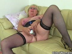 English granny claire knight needs that stuffed feeling videos