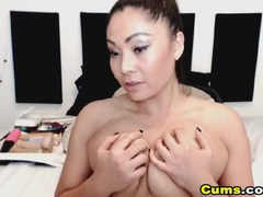 Big titty chick fucking a toy into her hot cunt videos