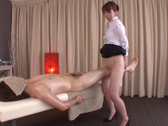 Subtitled traditional japanese bottomless massage yui hatano tubes at lingerie-mania.com