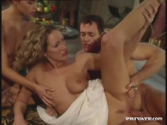 Classic roman orgy with breathtaking beauties videos
