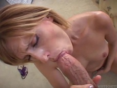 Slow deep dicking of a blonde milf from behind clip