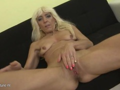 Bleach blonde mature whore strips for our pleasure videos