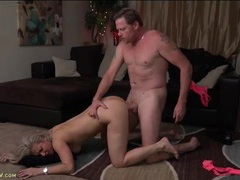 Plowing wet milf pussy and making the slut moan movies at adspics.com