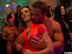 Dirty dancing with scantily clad girls at a party videos