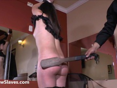 Bastinado feet whipping and tied spanking movies at find-best-mature.com