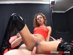 Crazy chocolade babe banged movies at kilosex.com