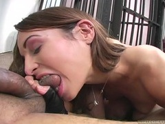 Amber rayne bites his cock and balls like a bitch movies at adipics.com