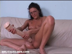 French canadian amateur fills her pussy with long dildo movies at dailyadult.info