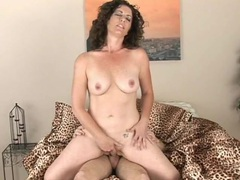 Cute curly hair mommy grinding on a young cock movies at freekiloporn.com