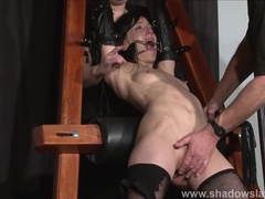 Enslaved painslut elise graves whipping movies at sgirls.net