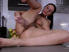 Tight milf cunt with mouth watering pubic hair movies at sgirls.net