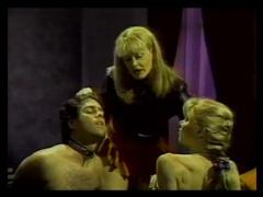 Elegant mistress dominates her slave couple movies at kilopics.net