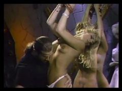 Vintage bdsm play in the dungeon with beauties tubes