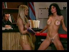 Lesbian bdsm foursome with hot punishment movies at kilosex.com