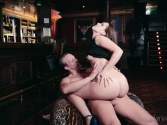After hours sex with a babe in the bar movies at kilovideos.com