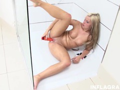 Hot shower with sweet selina videos