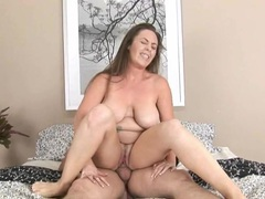 Curvaceous mommy is crazed for a good fucking movies at kilosex.com
