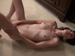 Slow dildo fucking makes the hot mommy moan movies at nastyadult.info