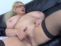 Huge bbw titties are breathtaking as she licks her nips videos