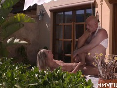 Old guy gets to fuck a hottie videos