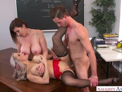 Teacher sluts give the new student a hot fucking videos