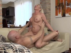 Curvaceous mom is a passionate cock rider videos