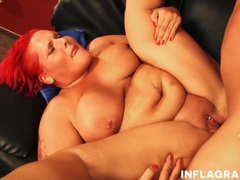 Bbw redhead anja mieze loves a good fucking videos