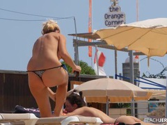 Spying on topless milfs at the beach movies at find-best-babes.com