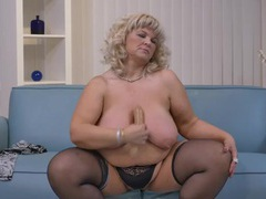 Bbw sucks on a dildo like a hot slut videos