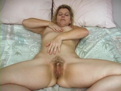 Friendly blonde mom happily gets naked for you movies at sgirls.net