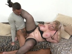 Bbw blows him and opens her legs for a good fuck videos