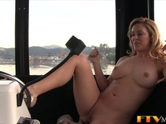 Natural milf toys in pov videos