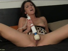 Horny mom gets out her magic wand to get off movies at kilotop.com
