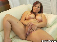 Euro milf riona takes matters into her own hands videos