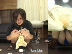 Subtitled japanese amateur pee desperation failure in hd tubes at lingerie-mania.com