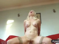 Mature fitness babe rides a dick with passion videos