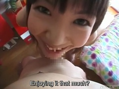 Subtitled bizarre and funny japanese teen foreplay in pov movies at kilotop.com