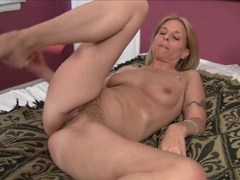 Dildo fucking into her wet mommy pussy for pleasure movies at adipics.com
