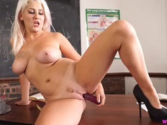 Jerk off to your beautiful busty teacher videos