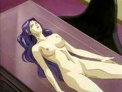 Hentai monsters fucking a beautiful purple haired girl videos