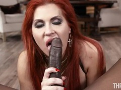 Bbc blown erotically by a redheaded milf movies at kilosex.com