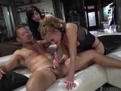Sluts deepthroat rocco and ride his rod videos