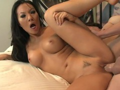 Asa akira sucks dick from her hands and knees movies at sgirls.net