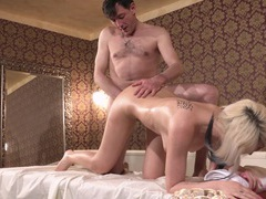 Her first nuru massage videos