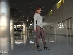 Jeny smith transparent leggings flashing videos