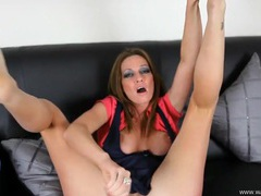 Foot fetish joi with a busty british hottie tubes