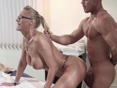 Milf goddess loves a nuru massage videos