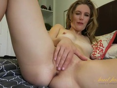 Milf pussy is all wet from naughty finger banging movies at adspics.com