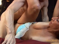 Dirty mom sucks his dick to get pounded on videos